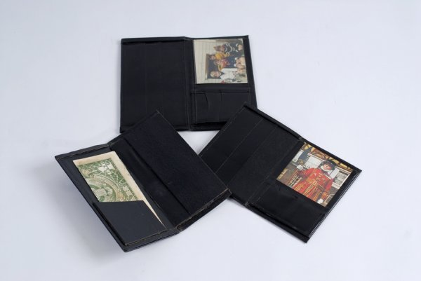 22: Three Himber Wallets. From the collection of Bruce