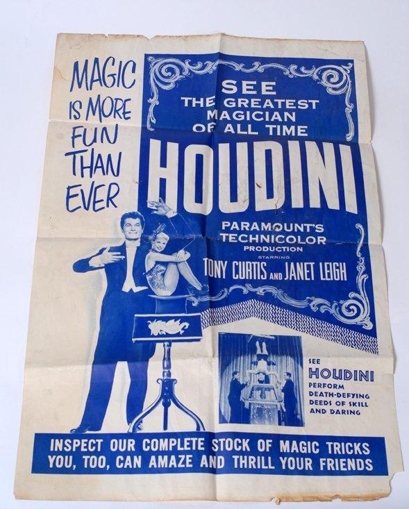 "23: Houdini Movie poster. One sheet (28 x 40"")"