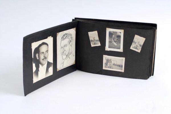 124: Dai Vernon's personal scrapbook and photo album