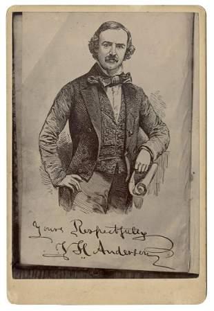 Anderson, Professor (John Henry Anderson). Cabinet Card