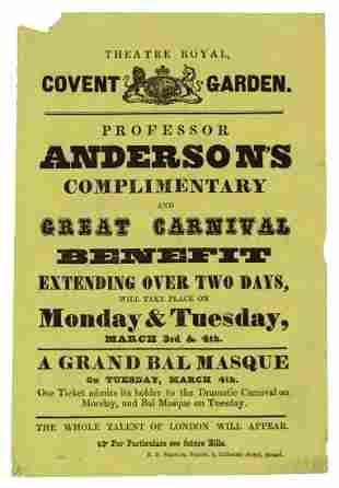 Anderson, Professor (John Henry Anderson). Professor