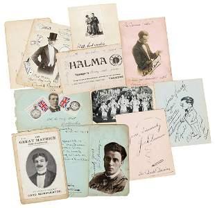 [Autographs] Collection of Autographs of Famous