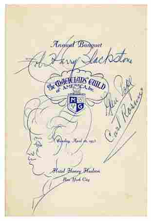 Blackstone, Harry (Henry Boughton). Magicians'