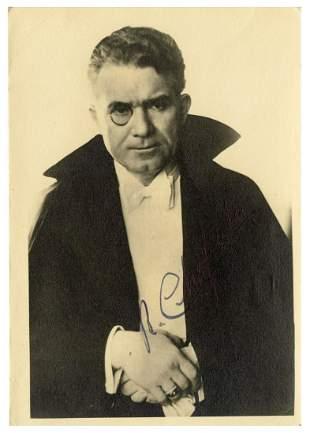 Chefalo, Raffaele. Signed Portrait of Chefalo the