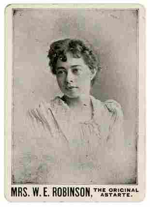 [Chung Ling Soo] Mrs. W.E. Robinson, The Original