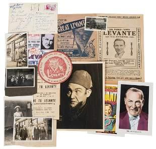 Levante, Les (Leslie Cole). Group of 16 Pieces of