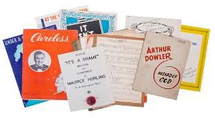 [Sheet Music] Collection of Magicians' Sheet