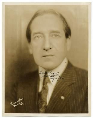 Thurston, Howard. Signed Portrait of Howard Thurston.
