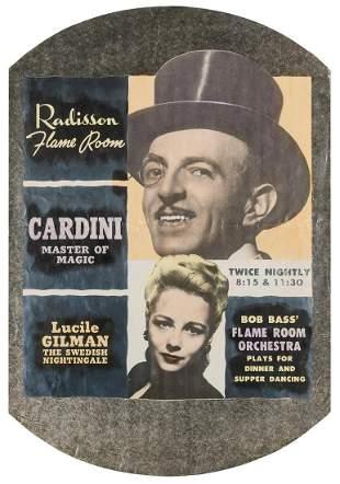 Cardini (Richard Valentine Pitchford). Cardini Master