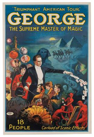 George, Grover. George. the Supreme Master of Magic.