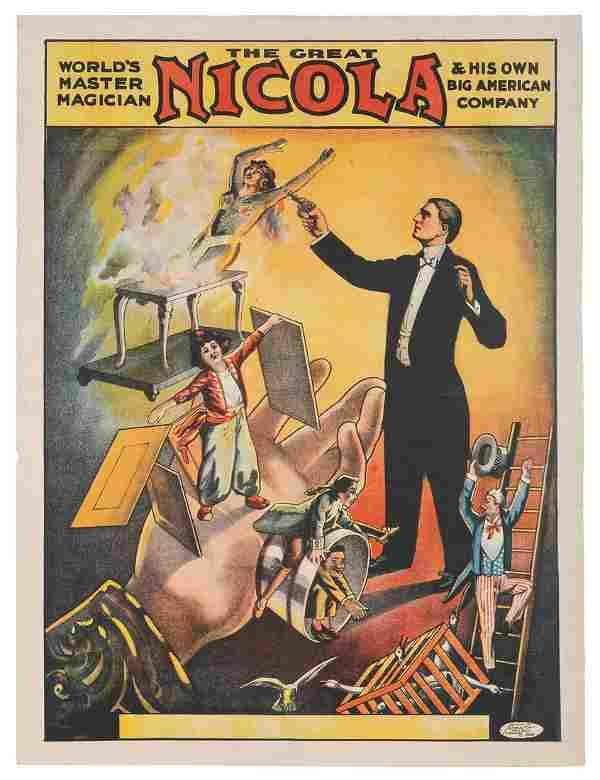 Nicola (William Mozart Nicol). World's Master