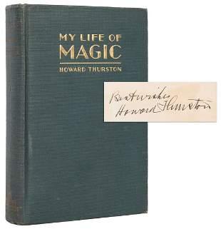 Thurston, Howard. My Life of Magic. Philadelphia: