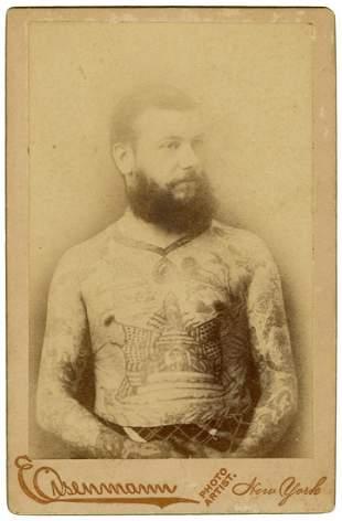 [TATTOO] Cabinet Photo of Capt. Harry Decoursey,
