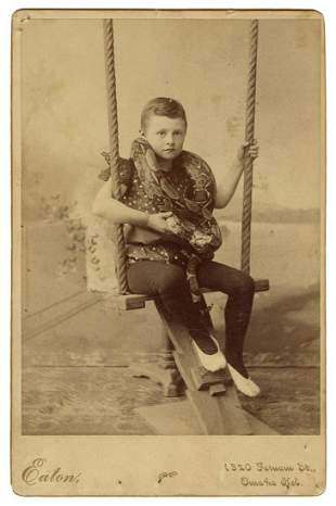 Cabinet Photo of a Child Snake Charmer. Omaha: Eaton,