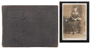 Scrapbook of Circus and Sideshow RPPCs, Tintypes, and