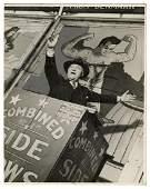 LESTER, Allen J. Photograph of Fred Smythe, Side Show