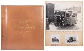 Scrapbook of Circus Snapshots and Photographs.