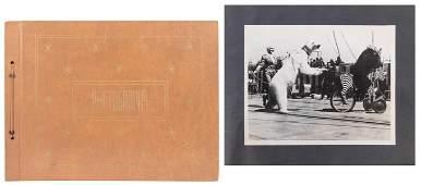 Scrapbook of Circus Photographs. American, ca.