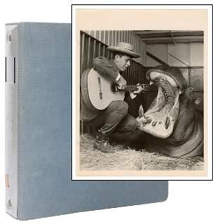 Album of Circus Act Photographs. American, ca.