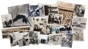 Lot of Carnival and Circus Photographs. American, ca.