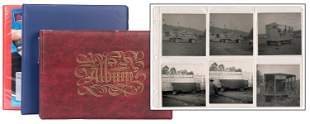 Three Binders of Carnival and Circus Photographs.