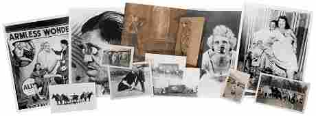Lot of Circus and Sideshow Photographs. American, v.d.