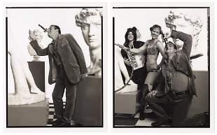 FOX, Johnny. Johnny Fox Photos. Circa 1990s. A pair of