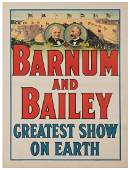 Barnum & Bailey Greatest Show on Earth. Cincinnati/New