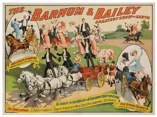 Barnum & Bailey Greatest Show on Earth / Bradna &