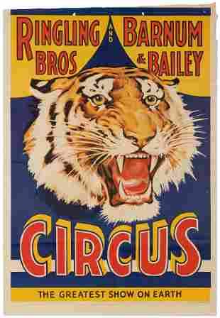 Ringling Bros. and Barnum & Bailey Circus / [Tiger].