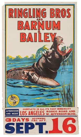 BAILEY, Bill. Ringling Bros. and Barnum & Bailey Circus