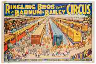 Ringling Bros. and Barnum & Bailey Circus / 100 Double