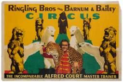 BEL GEDDES, Norman (American, 1893-1958). Ringling