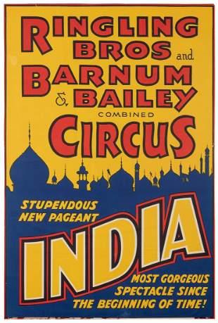 Ringling Bros. and Barnum & Bailey Circus / India.