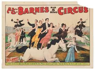 Al G. Barnes Big 5 Ring Circus / The Belmont Family.