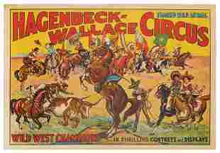 Hagenbeck-Wallace Circus / [Wild West Champions in