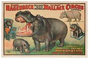 Carl Hagenbeck and The Great Wallace Circus Combined /