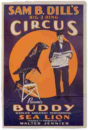 Sam B. Dill's Big 3 Ring Circus / Buddy