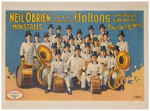 Neil O'Brien Minstrels Use and Recommend Holtons