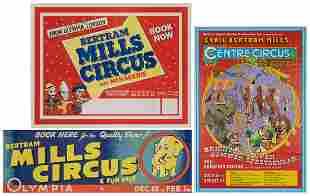 Bertram Mills / Cyril Bertram Mills Posters (3).