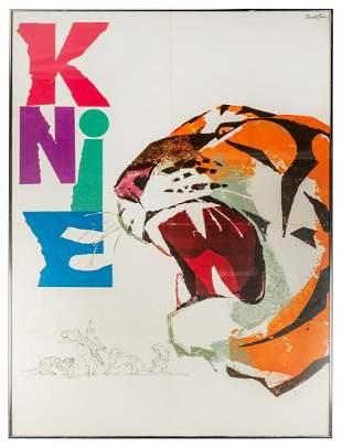 BRUN, Donald. Knie / [Tiger]. Trimbach, Switzerland: