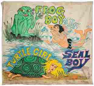LONGUEUIEL, Dan (American). Frog Boy - Seal Boy -