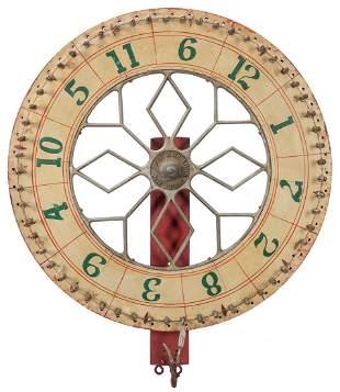 Dailey Mfg. Co. Carnival Gambling Wheel. St. Paul, MN.