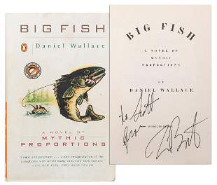 WALLACE, Daniel. Big Fish [Signed by Cast and Crew of