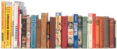 Collection of Circus Books. Approximately 27 volumes,