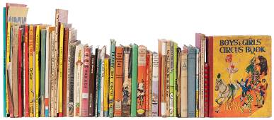 Collection of Children's Circus Books.