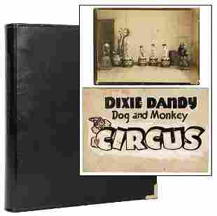 HAWKINS, Bud. A large binder full of photographs and