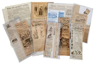 Group of 19th/20th Century Circus Advertisements in