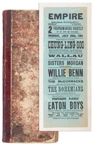 """WALLAU. Scrapbook of Wallau, the """"Boy"""