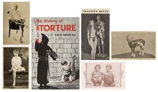 [ODDITY] Group of Freakshow and Torture Ephemera.